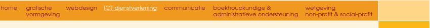 VS-menu ICT-dienstverlening
